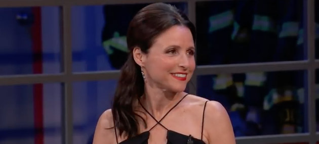 Julia Louis-Dreyfus receives Mark Twain Award